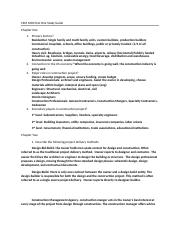 CSM 1000 Test One Study Guide.docx
