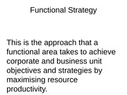 Week_6_Strategy_formulation_functional_strategy_and_strategic_choice