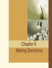 6. Making Decisions.ppt