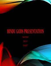 rel 133 week 2 saraswati hindu Rel 133 week 2 hindu gods presentation this assignment will help you to gain greater insight into hindu spirituality and devotional practices you will also have the opportunity to explore the various hindu gods and select one to study.