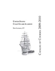 Coast Guard Course Catalog 2009-2010-2