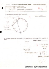 Quiz Through Quadrilaterals and other Polygons