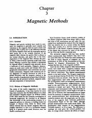 Chapter 3-Magnetic Methods