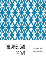 ma The American DReamr