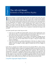 Chapter 13 _The AD-AS Model_