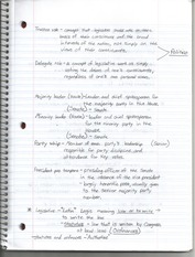 Terms of Congress Notes