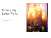 Chap3 - Adjusted Managing Legal Risks