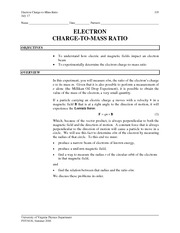 10 - Electron Charge-To-Mass Ratio.v1.4-10-06
