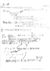 Derivative class notes