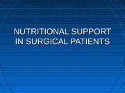 nutritional surgery