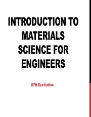 introduction to materials science for engineers 8th edition pdf
