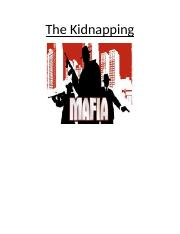 The Kidnapping - Mafia.docx