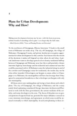 HOPKINS ch. 1-2 Urban Development_The Logic of Making Plans