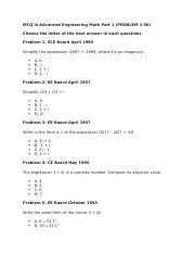 MCQ in Advanced Engineering Math Part 1.docx