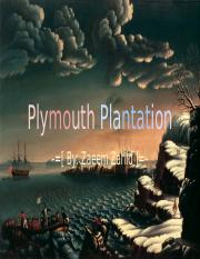 Plymouth Plantation - Advertisement.pptx