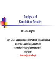 Analysis of Simulation Results.ppt