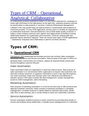 Types of CRM.docx