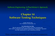 Ch14 Software Testing Techniques