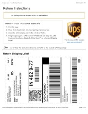 Amazon book rental return free