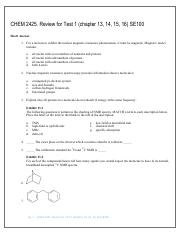 CHEM 2425. Review for Test 1 (chapter 13, 14, 15, 16) SE100.pdf