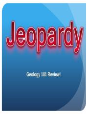 Geology Jeopardy