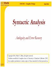SyntacticAnalysis-part7