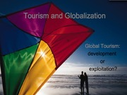 tourism and globalization