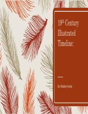 19th Century Illustrated Timeline