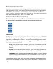 Unit 4 Intellipath - Barriers to Intercultural Negotiations.docx