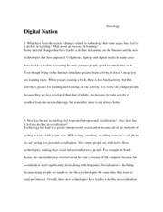 Digital Nation Assignment