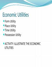 Economic Utilities Example.pptx