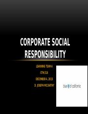 Corporate Social Responsibility - Team A - Wk 4.pptx