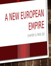 W Civ New European Empire