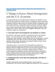 5 reasons imigrants come to the us.docx
