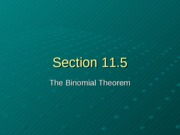 Section 11.5