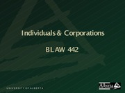 Individuals and Corporations-1