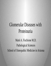 2.3 Pathology of Proteinuria.pptx