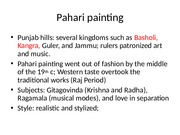Pahari painting.ppt