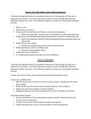 Topic 8 and 9 study guide Bio 185.docx