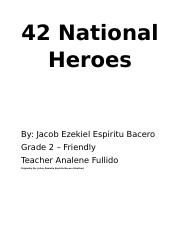 42 National Heroes.docx