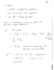 PHYS 313 Lecture 2 Notes