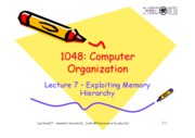 Lecture 07-memory