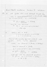 Econ3B03 Midterm Short Answer Questions Solution