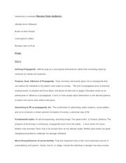 prop and persuasion final exam study guide