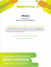 VMware VCP6.5-DCV 2V0-622 Exam Study Tips And Information