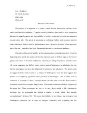 American Global Works Critical Essay.docx