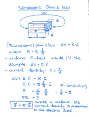 Ohm's Law Notes