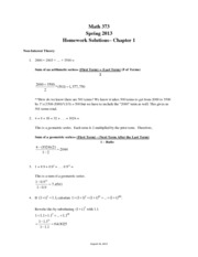 MA373 F13 Homework Chapter 1 Solutions