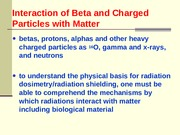 Charged  Particle Interactions_Tuesday