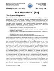 IS 322 LAB Assignment 2-b Sol  20170228